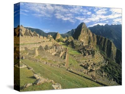 Macchu Pichu, Peru-Gavin Hellier-Stretched Canvas Print