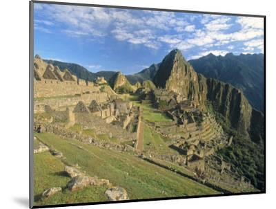Macchu Pichu, Peru-Gavin Hellier-Mounted Premium Photographic Print