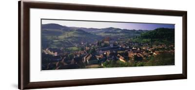 15th Century Fortified Church, Biertan, Nr. Sighisoara, Transylvania, Romania-Peter Adams-Framed Photographic Print