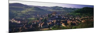 15th Century Fortified Church, Biertan, Nr. Sighisoara, Transylvania, Romania-Peter Adams-Mounted Photographic Print