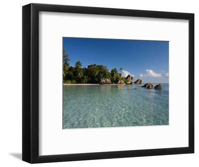 Anse Source d'Argent Beach, La Digue Island, Seychelles-Michele Falzone-Framed Photographic Print