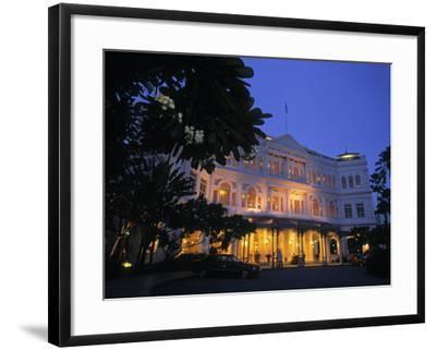 Raffles Hotel, Singapore-Rex Butcher-Framed Photographic Print