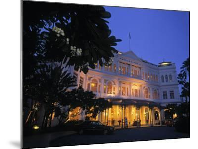 Raffles Hotel, Singapore-Rex Butcher-Mounted Photographic Print