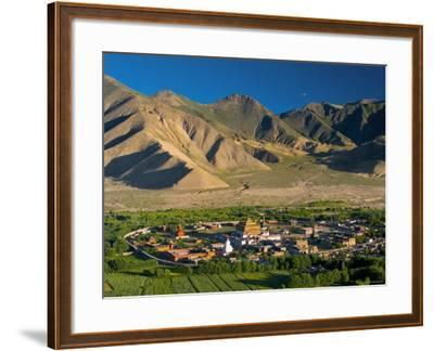 Samye Monastery, Dranang, Tibet-Michele Falzone-Framed Photographic Print