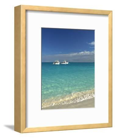 Beach at Grace Bay, Providenciales Island, Turks and Caicos, Caribbean-Walter Bibikow-Framed Photographic Print