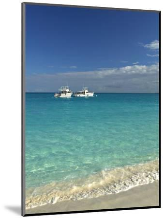 Beach at Grace Bay, Providenciales Island, Turks and Caicos, Caribbean-Walter Bibikow-Mounted Photographic Print
