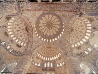 Blue Mosque, Istanbul, Turkey-Jon Arnold-Framed Photographic Print