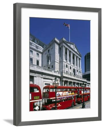 Bank of England, London, England-Rex Butcher-Framed Photographic Print