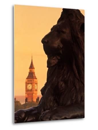 Big Ben from Trafalgar Sq. London, England-Doug Pearson-Metal Print