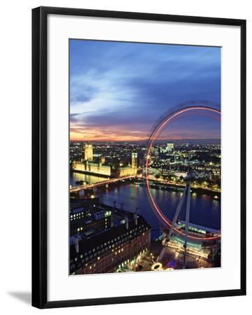 London Eye, London, England-Doug Pearson-Framed Photographic Print