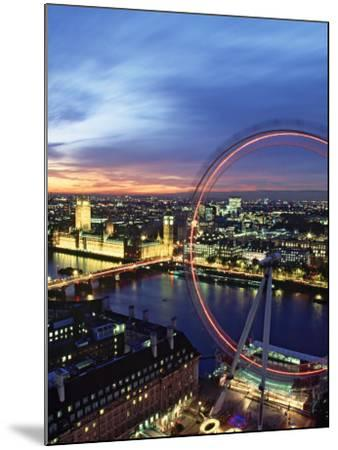 London Eye, London, England-Doug Pearson-Mounted Photographic Print