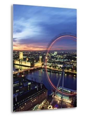 London Eye, London, England-Doug Pearson-Metal Print