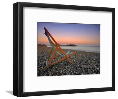Beach at Brighton, East Sussex, England-Jon Arnold-Framed Photographic Print