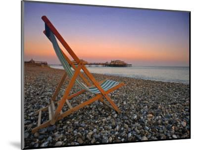 Beach at Brighton, East Sussex, England-Jon Arnold-Mounted Photographic Print