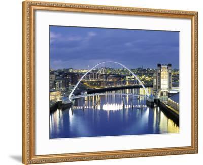 Newcastle, Tyne and Wear, England-Robert Lazenby-Framed Photographic Print
