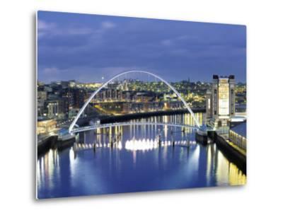 Newcastle, Tyne and Wear, England-Robert Lazenby-Metal Print