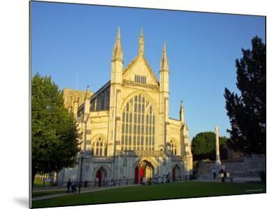 Cathedral at Winchester, Hampshire, England-Alan Copson-Mounted Photographic Print