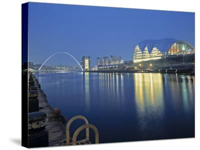 Sage Theatre, Gateshead, Newcastle, Tyne and Wear, England-Robert Lazenby-Stretched Canvas Print