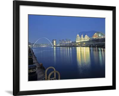 Sage Theatre, Gateshead, Newcastle, Tyne and Wear, England-Robert Lazenby-Framed Photographic Print