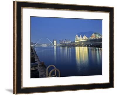 Sage Theatre, Gateshead, Newcastle, Tyne and Wear, England-Robert Lazenby-Framed Photographic Print