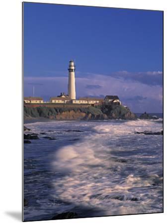 Pigeon Point Lighthouse, California, USA-Walter Bibikow-Mounted Photographic Print