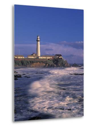 Pigeon Point Lighthouse, California, USA-Walter Bibikow-Metal Print