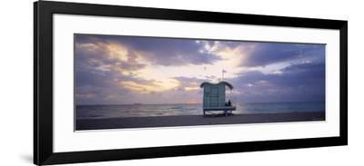 South Beach, Miami Beach, Florida, USA-Walter Bibikow-Framed Photographic Print