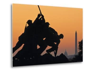 Iwo Jima Memorial, Washington D.C. Usa-Walter Bibikow-Metal Print