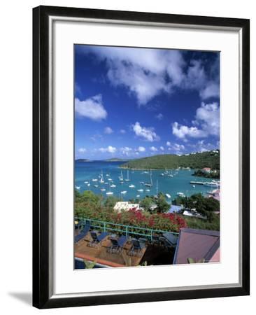 Cruz Bay, St. John, Us Virgin Islands, Caribbean-Walter Bibikow-Framed Photographic Print