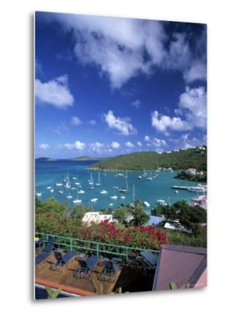 Cruz Bay, St. John, Us Virgin Islands, Caribbean-Walter Bibikow-Metal Print