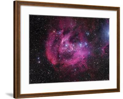 IC 2944 Running Chicken Nebula-Stocktrek Images-Framed Photographic Print
