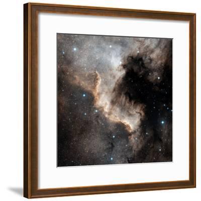 North American Nebula-Stocktrek Images-Framed Photographic Print