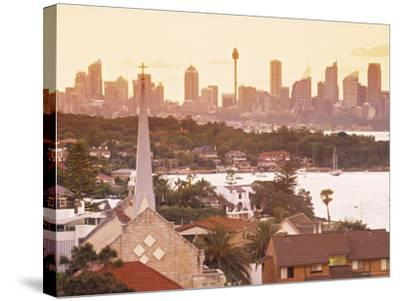Sydney from South Head, Sydney, Nsw, Australia-Doug Pearson-Stretched Canvas Print