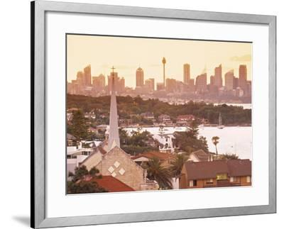 Sydney from South Head, Sydney, Nsw, Australia-Doug Pearson-Framed Photographic Print