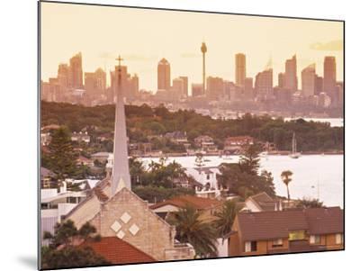 Sydney from South Head, Sydney, Nsw, Australia-Doug Pearson-Mounted Photographic Print