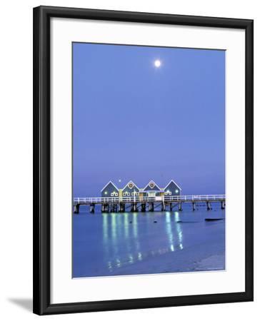 Busselton Jetty, Busselton, Western Australia, Australia-Doug Pearson-Framed Photographic Print