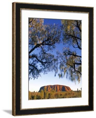 Ayers Rock, Northern Territory, Australia-Doug Pearson-Framed Photographic Print