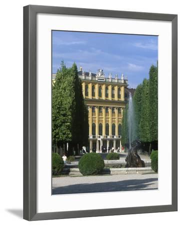 Schonbrunn Palace, Vienna, Austria-Jon Arnold-Framed Photographic Print