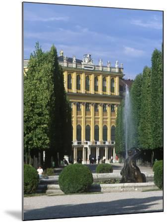 Schonbrunn Palace, Vienna, Austria-Jon Arnold-Mounted Photographic Print