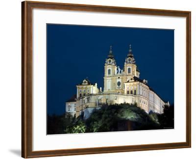 Melk Abbey, Melk, Wachau, Lower Austria, Austria-Doug Pearson-Framed Photographic Print