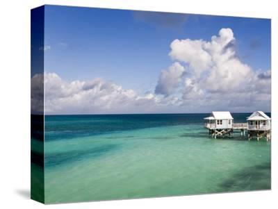 Beach Bungalows, Sandys Parish, Bermuda-Gavin Hellier-Stretched Canvas Print