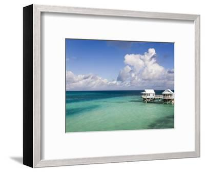 Beach Bungalows, Sandys Parish, Bermuda-Gavin Hellier-Framed Photographic Print
