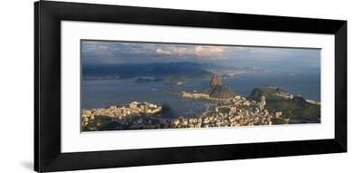 Sugar Loaf and Rio de Janeiro, Brazil-Michele Falzone-Framed Photographic Print