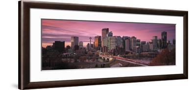 Calgary, Alberta, Canada-Walter Bibikow-Framed Photographic Print