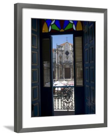 Plaza de La Catedral, Havana Vieja, Havana, Cuba-Peter Adams-Framed Photographic Print