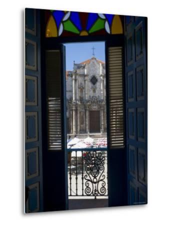 Plaza de La Catedral, Havana Vieja, Havana, Cuba-Peter Adams-Metal Print