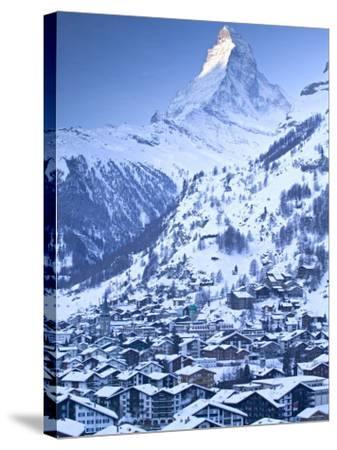 Zermatt, Valais, Switzerland-Walter Bibikow-Stretched Canvas Print