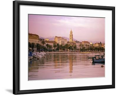 Waterfront at Split, Croatia-Alan Copson-Framed Photographic Print