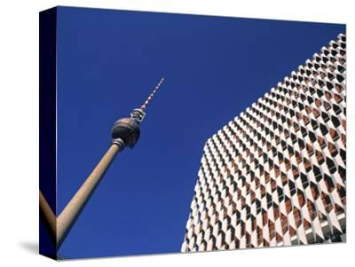 Fernsehturm, Alexanderplatz, Berlin, Germany-Jon Arnold-Stretched Canvas Print