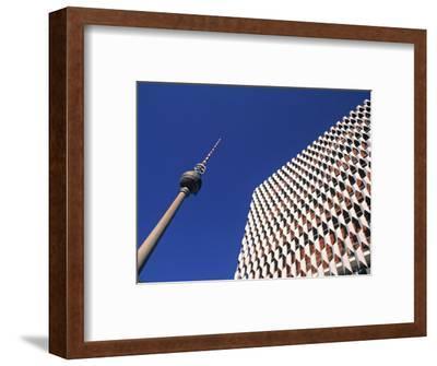 Fernsehturm, Alexanderplatz, Berlin, Germany-Jon Arnold-Framed Photographic Print